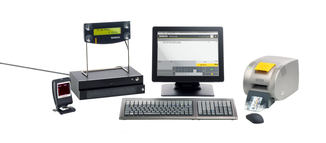 Human-operated Point of Sale (POS) Terminals | SKIDATA